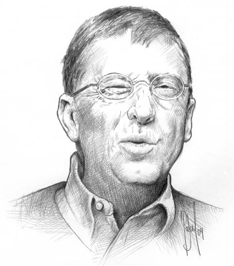 Bill Gates par Pastis